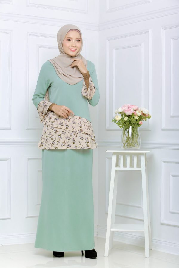 Kurung Erika 2.0 Mint Green